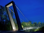 Suspended Float - Cycle Bridge