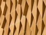 Courtroom acoustic panel detail