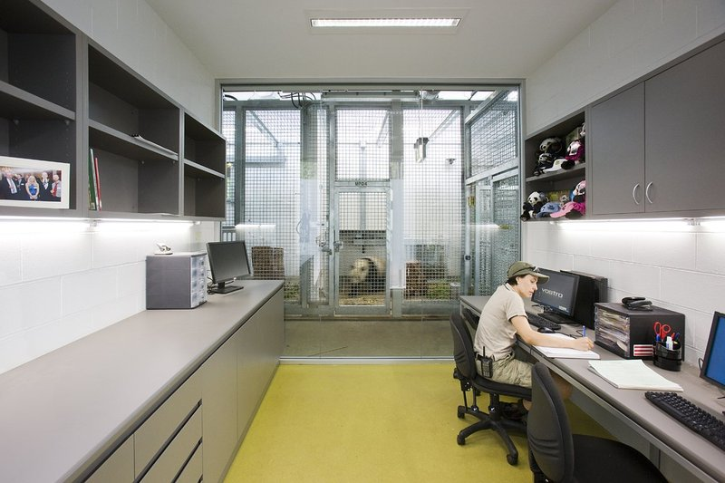 Research laboratory with view to Wang Wang