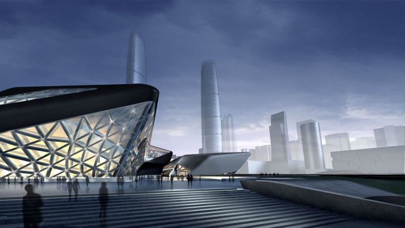Guangzhou Opera House (2)