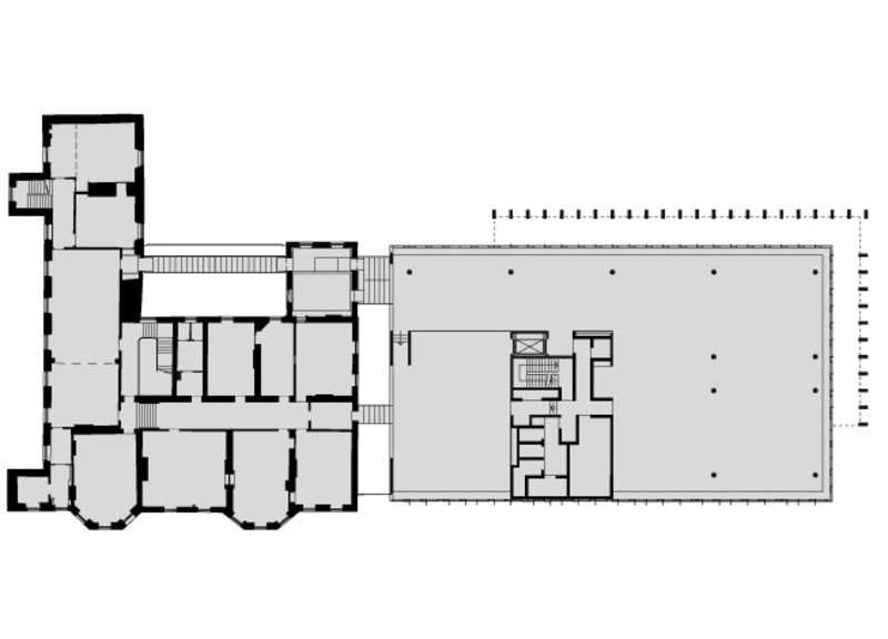 First level plan