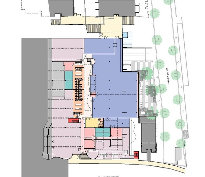 Level 1 - Fitness Centre Plan