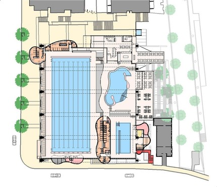 Level 2 - Main Pool and Entry Plan