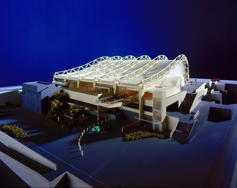 Model view from North East