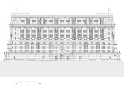 Victoria Embankment Elevation