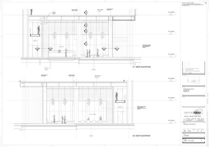 Reception elevations