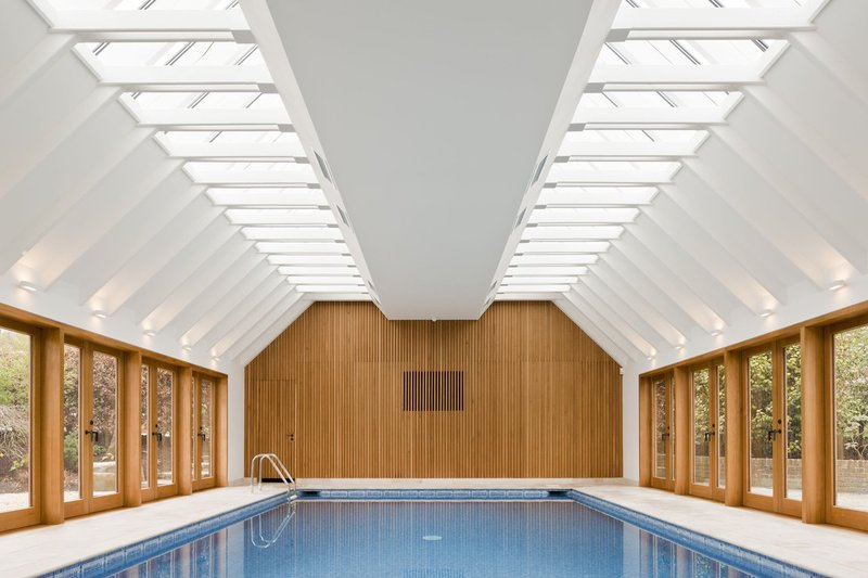 Interior to Pool