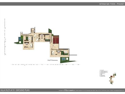 Istana Phuket Villa 19 Ground Floor Plan