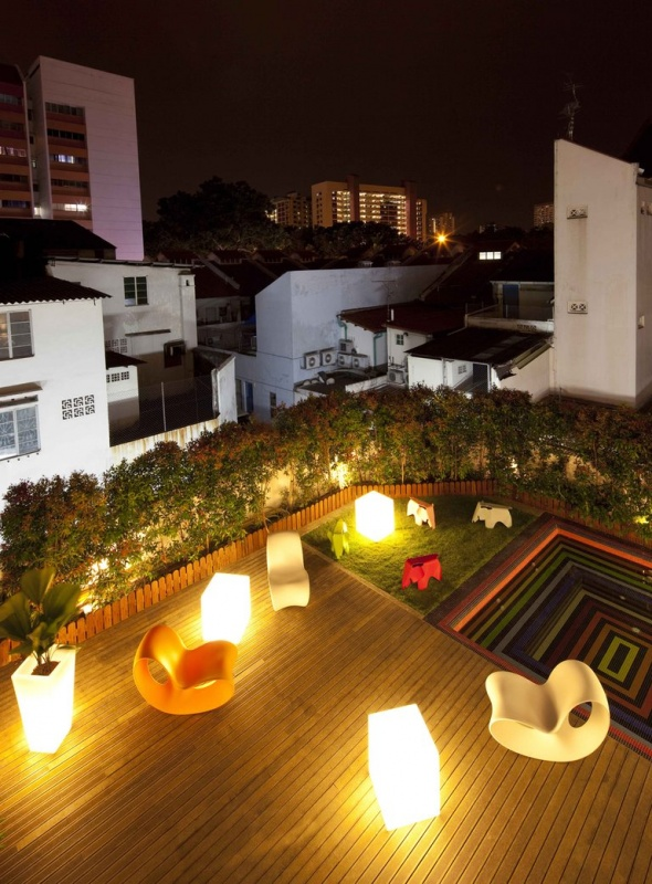 Roof garden and Jacuzzi 2
