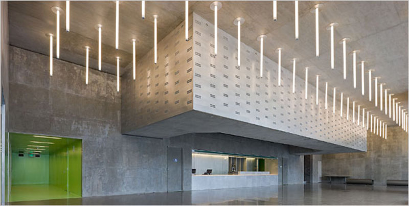 The lobby of the Dee and Charles Wyly Theater. Photo: Iwan Baan