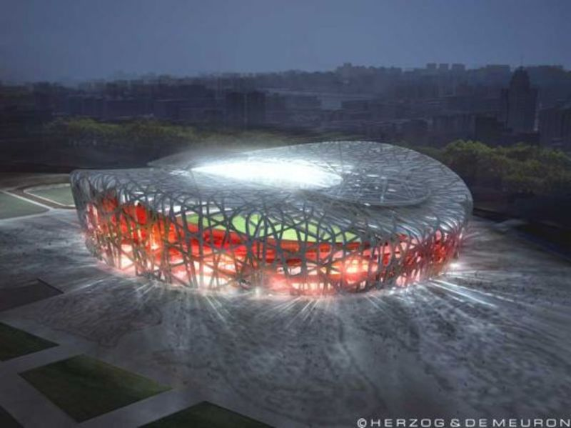 <b>Bird's Nest</b> – Olympic Park, <b>Beijing</b>, China « AEWORLDMAP.