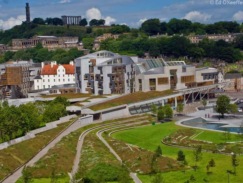 Ed O'Keeffe Photography » <b>Scottish Parliament Buildings</b>, Edinburgh