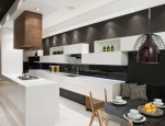 Mixed Kitchen and Dining Room