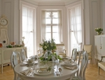 swedish interior design white gustavian living room