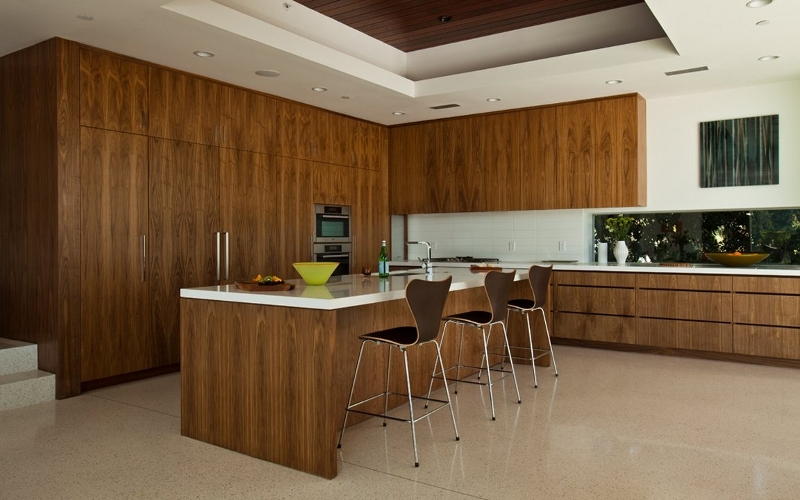 Kitchen at Sunset Plaza Residence