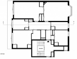 Minimal Interior Upper Floor Plan