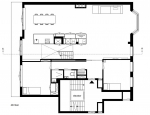Minimal Interior Lower Floor Plan