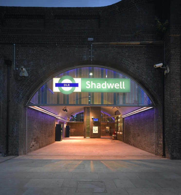 Shadwell DLR Station