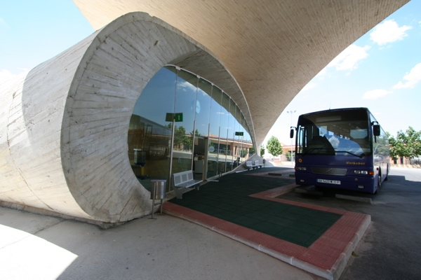 Bus Station in Casar de Cáceres