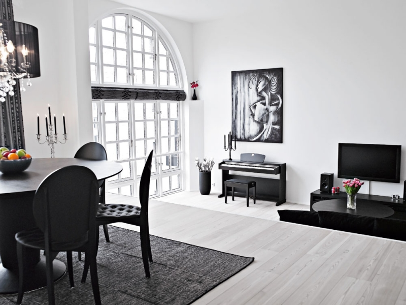 Danish Beautiful Duplex Apartment