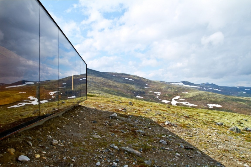 Norwegian Wild Reindeer Center Pavilion