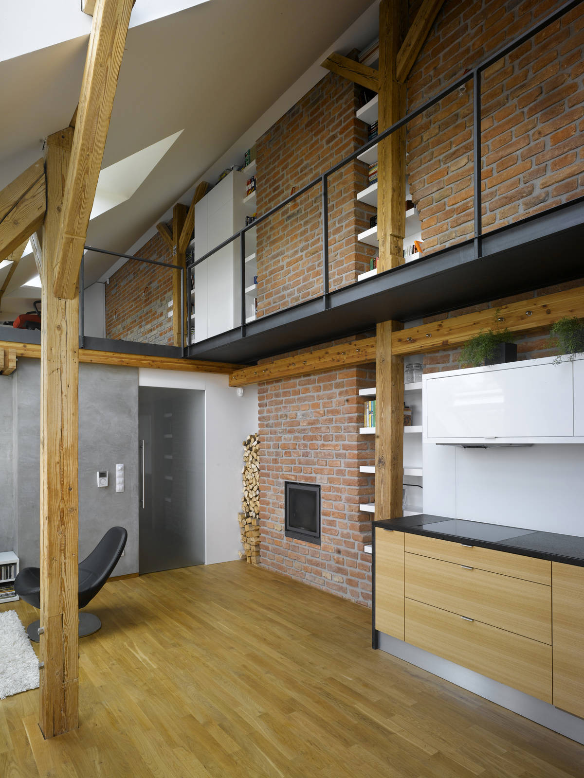 Mini-Loft Apartment in Prague