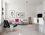 Apartment Interior Design in Scandinavian Style