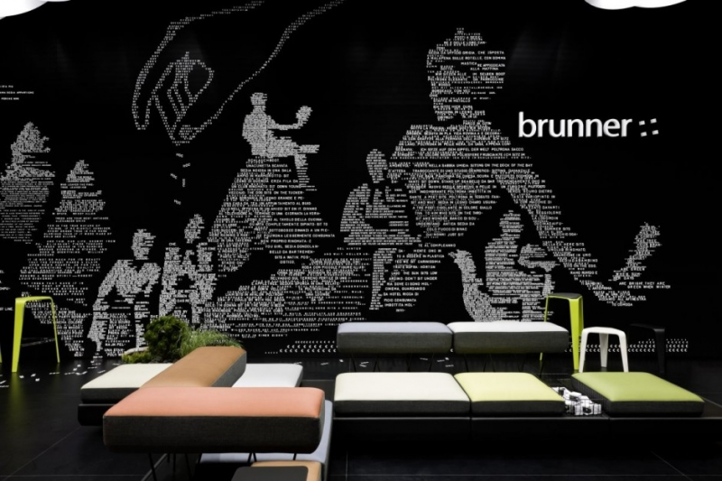 Brunner Fair Stand at Salone del Mobile