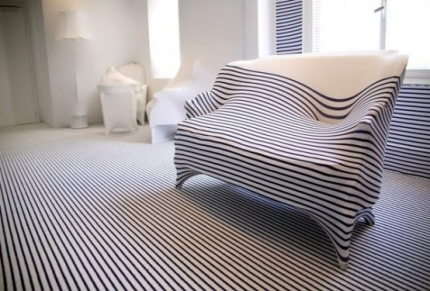 Stripes Apartment by Jean-Paul Gaultier