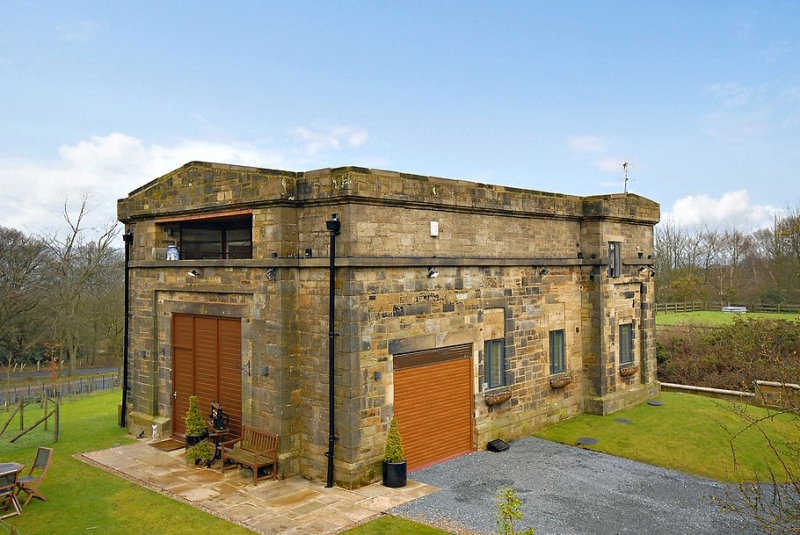 1848 Pump House Converted Into Monster Home