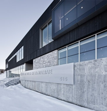 Laure Conan Library and City Hall of La Malbaie