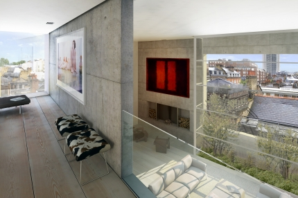White Horse Street: loft view