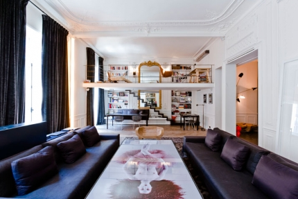 An Apartment on Rue de Rivoli, Paris