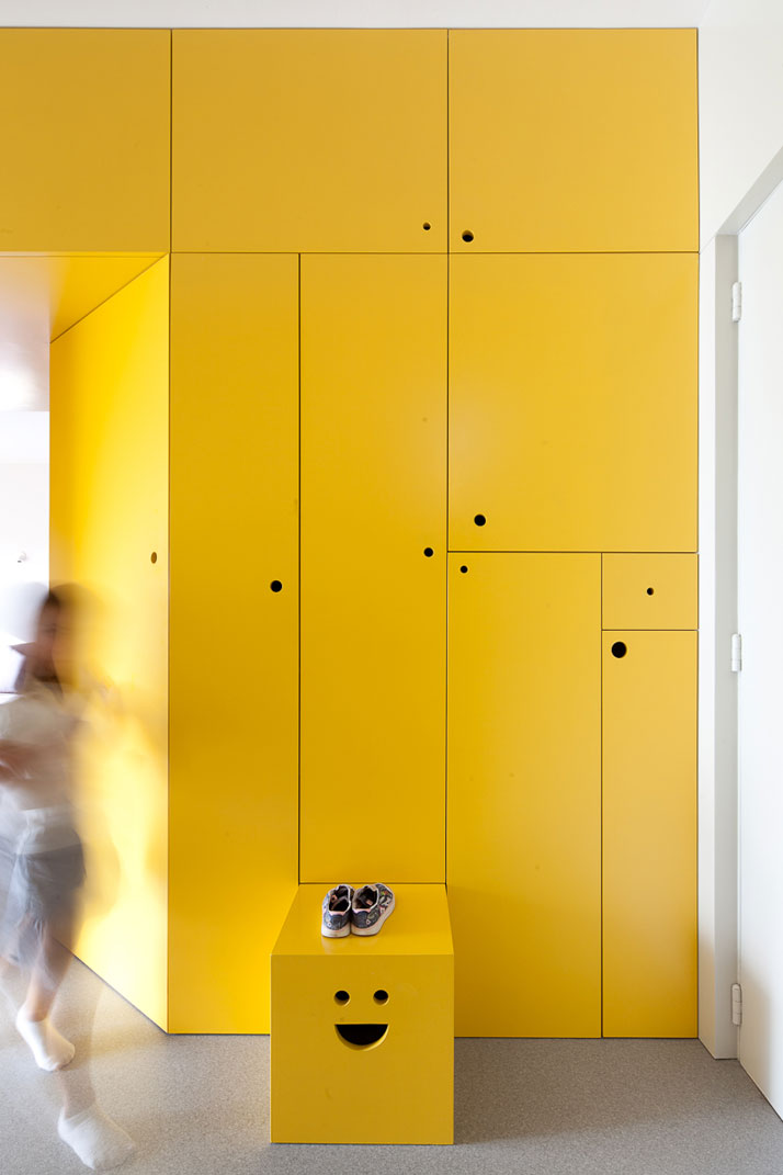 Yellow Apartment Renovation
