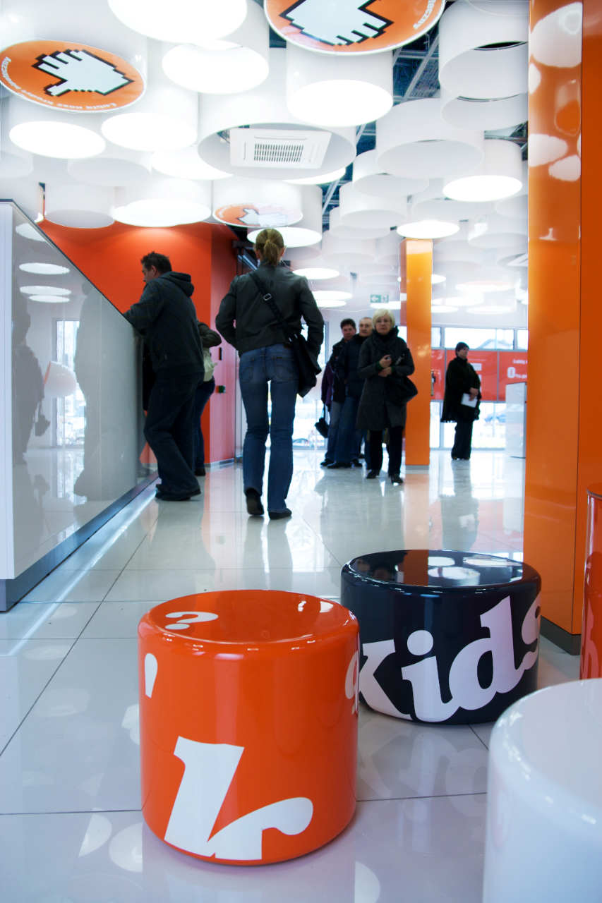 New Interior Standard For ING Bank Outlets