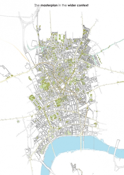Masterplan in the wider context