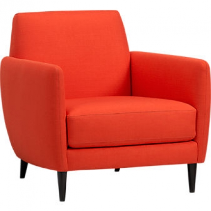 Parlour Chair in Atomic Orange