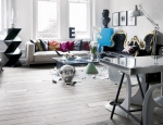 Jimmie Karlsson's Upcycled London Flat