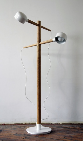 Castor Design Deadstock Floor Lamp
