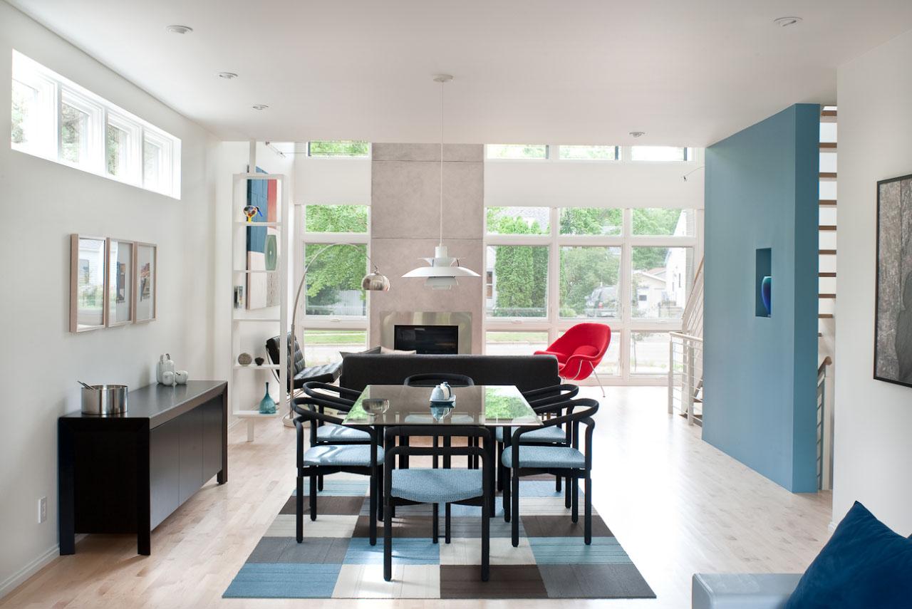 Dulux trade for Pintura de interiores modernos