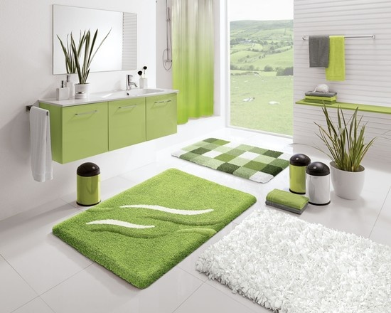 Green Bathroom Theme