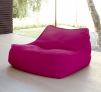 Float Lounge Chair in Magenta