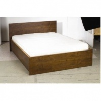 Urbane Designs Walnut Bed
