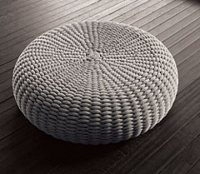 Shell Pouf