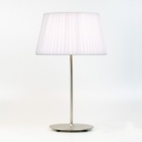 Matt Nickel Table Lamp