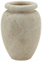 Travertine Stone Vase