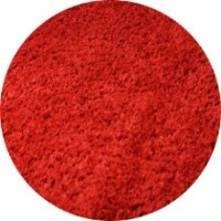 Twilight Shaggy Red Circle Rug
