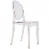 Kartell Victoria Ghost Chair Crystal