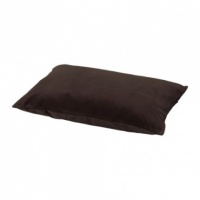 SANELA Cushion cover, dark brown