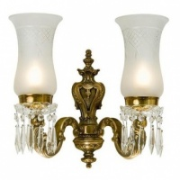 Kansa Lighting Maharaja Two Wall Bracket Light